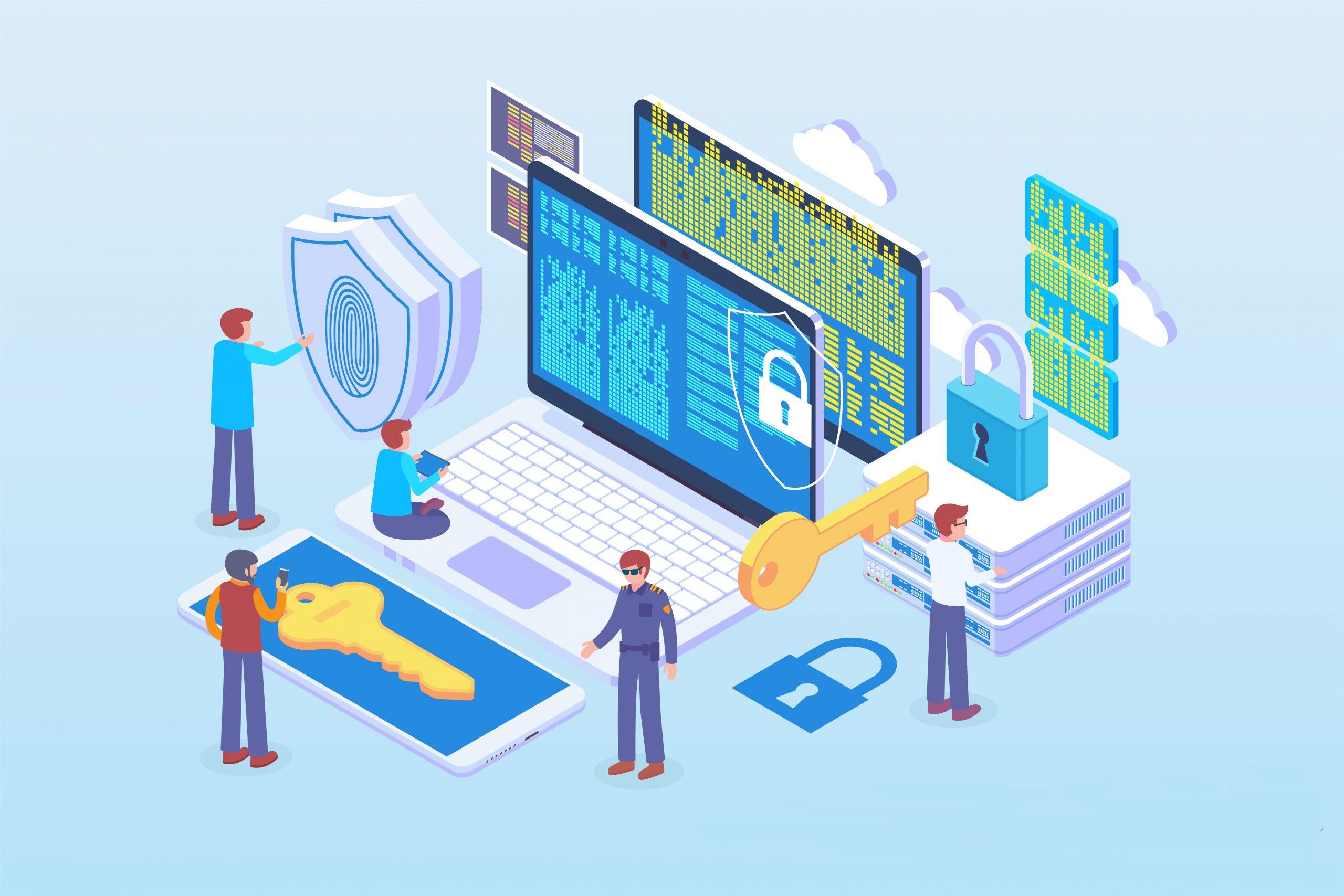 Datenschutz Darstellung